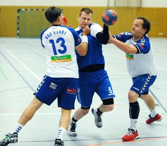 Daniel Hoffmann musste kurzfristig aushelfen. (Archivfoto www.handball-server.de)